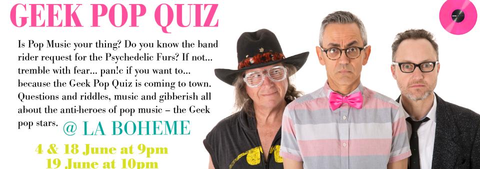 Geek Pop Quiz